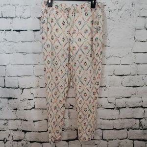 Free People casual embroidered pants